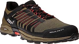 Inov-8 男式 Roclite 315 GTX – 防水 Gore Tex 徒步鞋 – 轻盈 – 素食主义者 棕色/红色 12.5