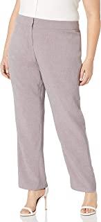 Kasper 女式加大码混色斜纹裤