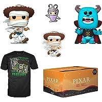 Funko Pixar 万圣节收藏盒,带 2 个POP!乙烯树脂人偶,2XL 码