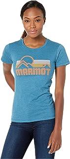 Marmot 土拨鼠 女士 Wm's Coastal Tee 短袖T恤,功能T恤,速干 & 透气