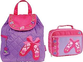 Stephen Joseph 女童绗缝芭蕾背包和儿童午餐盒