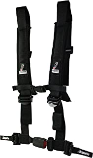 Dragonfire Racing 4 点 2 英寸(约 5.1 厘米)H 型自动锁,带 EZ 可调节肩带和*泡沫垫