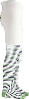 Playshoes 儿童连裤袜,适合男孩和女孩,弹性棉质连裤袜,舒适腰带,通过有害物质测试,带乌龟图案条纹