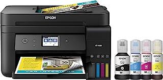 Epson 爱普生 EcoTank ET-4760 无线彩色一体无墨盒 Supertank 打印机,带扫描仪 打印机 常规 黑色