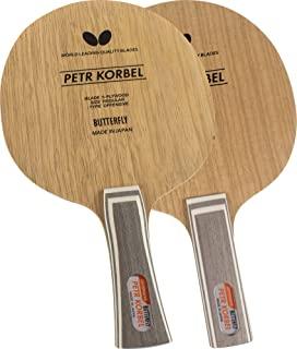 [Butterfly 蝴蝶] 乒乓球 球拍 Korbel FL 横握式底板 进攻打法 30271
