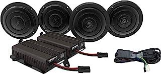Wild Boar Audio WBA Ultra Kit 600 瓦 4 通道放大器带前后 6.5 英寸扬声器带烧烤架,适用于 2014 + 哈雷戴维森 Ultra Models WBA Ultra Kit