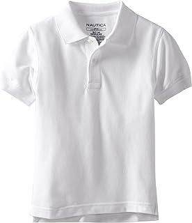 Nautica 男孩制服短袖 POLO 衫