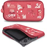 Controller Gear 正品官方*动物十字架 - Nintendo 氯丁橡胶保护套 - 绗缝色调 - Ninte…