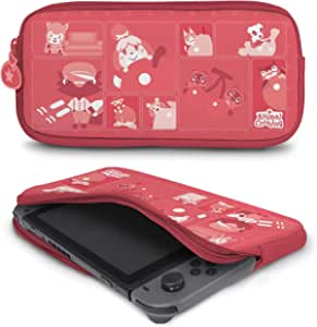 Controller Gear 正品官方*动物十字架 - Nintendo 氯丁橡胶保护套 - 绗缝色调 - Nintendo Switch