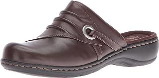 Clarks 女士 Leisa Bliss Mule 平底鞋