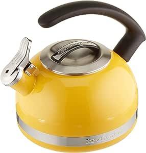 KitchenAid 2.0-夸脱热水壶,带 C 型纤细环手柄 Citrus Sunrise