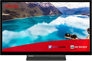 Toshiba 东芝 24D3863DB HD Ready 智能电视 Freeview Play and Built In DVD Player 24-Inch 24WD3A63DB
