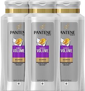 PANTENE 透明薄纱 VOLUME 3分钟奇迹深层空调系统 25.4 Fluid Ounce (Pack of 3)