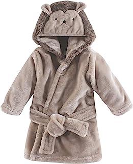 Hudson Baby 柔软毛绒婴儿浴袍 刺猬 0-9 个月