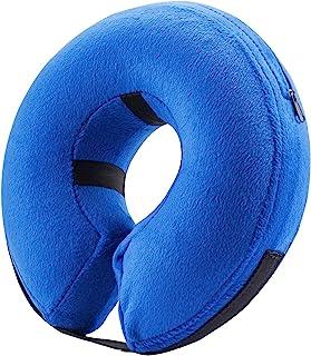 防护充气项圈适用于猫狗–软宠物 recovery 项圈不 BLOCK VISION e-collar 蓝色 X-S