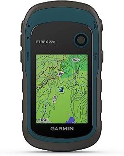 Garmin eTrex 坚固的手持式 GPS 导航仪010-02256-00  22x 均码 黑色/*蓝