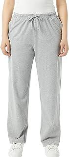 AmeriMark 女式运动裤松紧裤,带抽绳和口袋