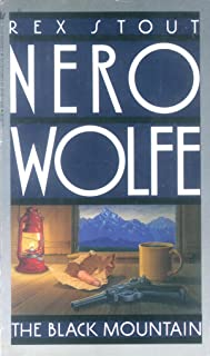 The Black Mountain (A Nero Wolfe Mystery Book 24) (English Edition)