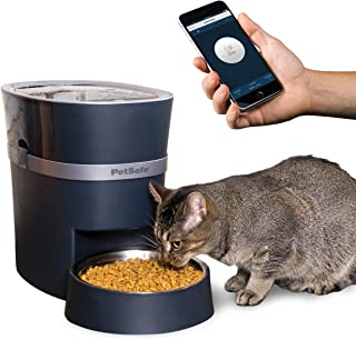 PetSafe Smart Feed Automatic Dog & Cat Feeder - 2nd Generation - 24-Cups, Wi-Fi Enabled App for iPhone & Android, Amazon D...