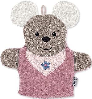 Sterntaler 思丹乐 游戏洗手套 鼠标 Mabel,尺寸:25 x 24 厘米,粉红色