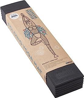 IMPHY(菲) 折叠 瑜伽垫 Black 【英菲】