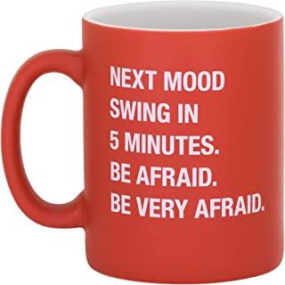 关于 Face Designs 186948 Be Very Afraid 咖啡杯,399.24g,红色