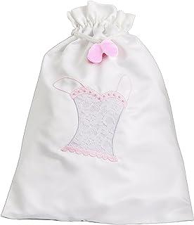 粉色蕾丝内衣包,伴娘婚礼礼物