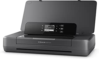 HP 惠普 OfficeJet 200 移动喷墨打印机(A4,打印机,WLAN,HP ePrint,AirPrint,USB,4800 x 1200 dpi)黑色