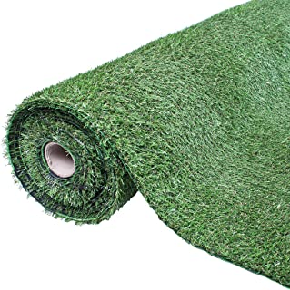 GardenKraft 26009 *卷轴 4 米 x 1 米 20 毫米厚绒面高地毯 人造材料 26009