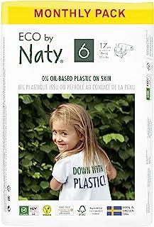 Eco by Naty 优质一次性纸尿裤,适合敏感肌肤 6号 11.94905461124