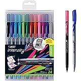 BIC Intensity Fineliner Marker Pen Easel Pack, Fine/Medium P…