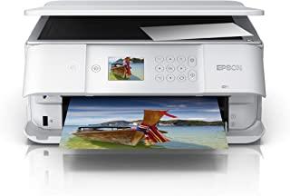 Epson 爱普生 Expression Premium XP-6105 打印/扫描/复制 Wi-Fi 打印机,白色,Amazon Dash 补货就绪