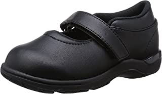 Carrot Merry Jane 平底鞋 正装鞋 魔术贴 14~24.5厘米 女孩 儿童 CR C2088 黑色 20.5 cm 2E