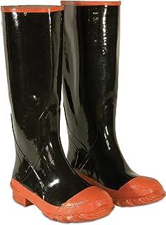 CLC 定制皮革雨衣 红底和脚趾橡胶靴 Size 15 R21015