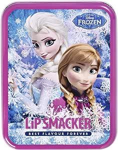 Disney 冰雪奇缘润唇膏 6 件套 Elsa Anna Olaf 唇膏套装