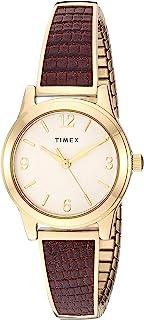 Timex 天美时 女式弹力手镯 25 毫米手表