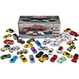 Majorette 玩具小汽车套装 带收纳箱