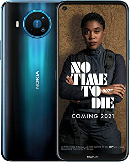 Nokia 诺基亚 8.3 5G 6.81 英寸 Android 英国 SIM 智能手机,5G 连接 - 6 GB RAM 和 64 GB 存储(单一 SIM 卡) - Polar Night
