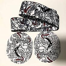 2 合 1 磁罩带头带适用于 SteelSeries Arctis Pro 高保真游戏耳机/SteelSeries Arctis Pro 无线游戏耳机(3 色趣味)