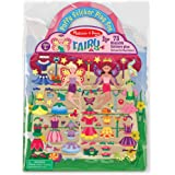 Melissa & Doug Puffy Sticker Activity Book: Fairy - 75 Reusa…