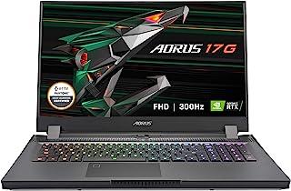 GIGABYTE 技嘉 AORUS 17G YD- 17.3英寸FHD IPS 防眩光300Hz,Intel Core i7,NVIDIA GeForce RTX 3080笔记本电脑 GPU 16GB GDDR6,32GB RAM,512GB ...