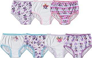 Disney Little Girls' Minnie Seven-Pack of Brief Underwear