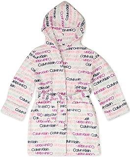 Calvin Klein 女童舒适袖口睡袍