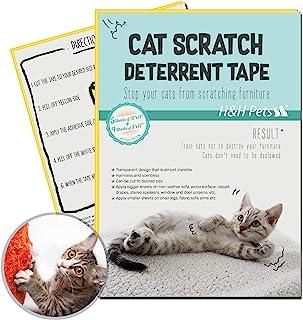 H&H 宠物狗和猫*剪和刮擦胶带专业小狗爪钳,猫*剪,小号,防刮猫毛止裂训练胶带,必备*工具 5 Large + 4 Small
