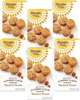 Simple Mills 脆饼干,烤山核桃味,155.65克, 6 计数