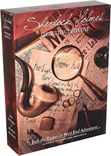 Asmodee Editions ASMSCSHJW01US Sherlock Holmes Consulting Detective Jack the Ripper and West End Adventures Game