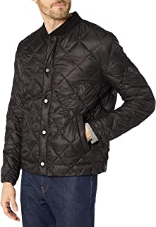 BERNARDO 男式 Jeff 绗缝 Primaloft 夹克 黑色 Small