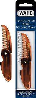 Wahl Model 3326 男士胡须和胡子折叠梳子 - 手工和手工切割醋酸纤维素 - 光滑圆锥齿
