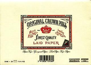 ORIGINAL CROWN MILL C6信封 25片 奶油色 13436