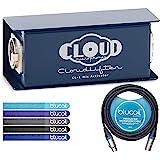 云麦克风 CL-1 Cloudlifter 1 通道麦克风激活器 - 减速器套装,配有 Blucoil 10 英尺平衡…